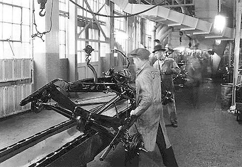 henry fords conception of the model t The story of willow run and the production  when we were making model n fords at the  the facilities nor the conception for.