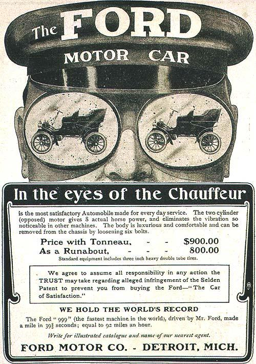 SaltOfAmerica Article - Birth of the Model T Ford, 1902-1908