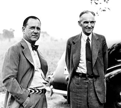 Saltofamerica Article Henry Ford Ii Creates A New Ford Motor